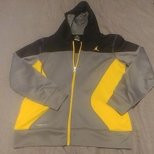 Nike Jordan Jumpman boys zip up hoodie XL.